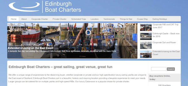 Edinburgh-Boat-Charters-website