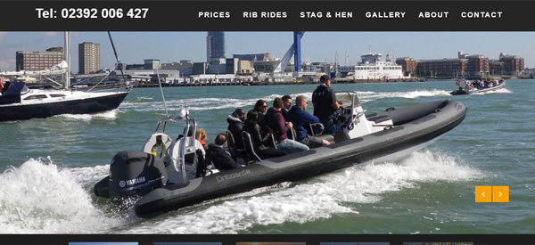 Onboard-Charters-website
