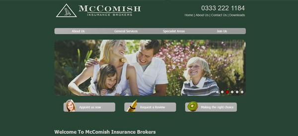 McComish-website